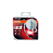 Крушка за фар Osram H7 Night Breaker Unlimited, up to 110%, 12V, 55W 2 броя